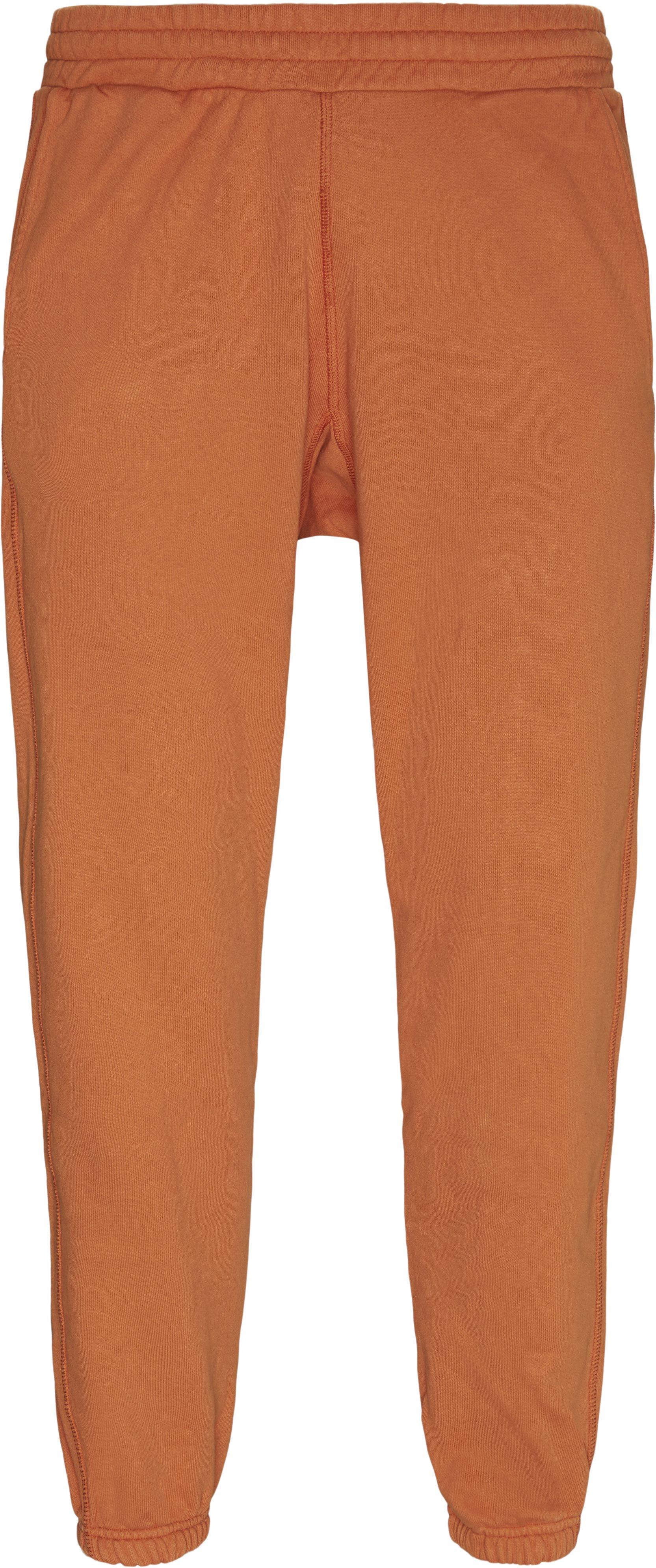 Trousers - Regular - Orange